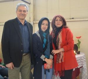 1394 Excellence Award winning student OMID 2016 Norouz