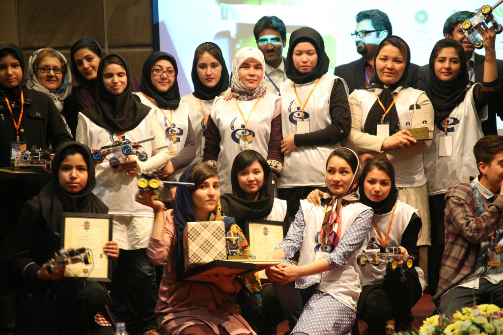 Robotics Competition feb16 Omid Girls