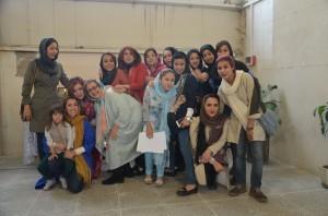 OMID Staff and girels Norouz2016