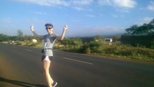 Zahra Ashrafi Killimanjaro Marathon