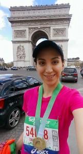 Zahra Ashfari Paris run