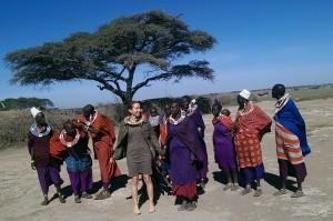 Zahra with Tanzanianwomen