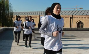 OMID Girls train for 10K
