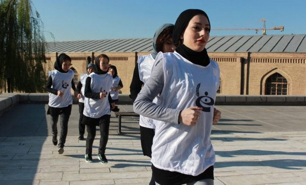 OMID Girls train for 10K