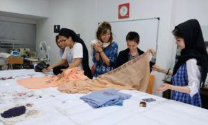 Shawls workshop with omid girls5